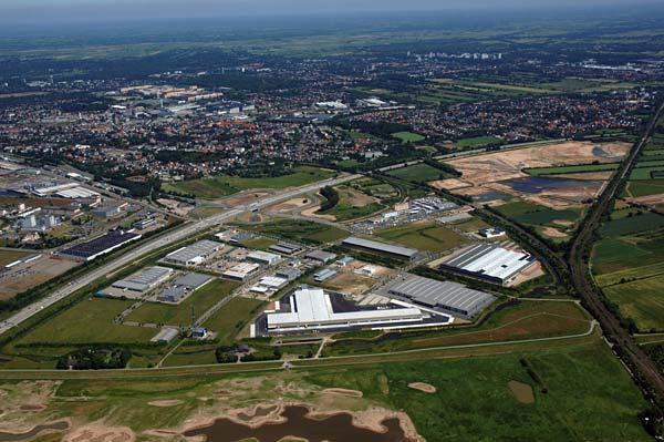 Gewerbepark Hansalinie Bremen Erweiterung 1. Baustufe